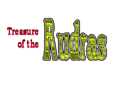 Treasure of the Rudras - Clear Logo