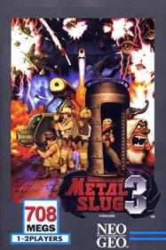 Metal Slug 3 - Box - Front