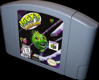 Iggy's Reckin' Balls - Cart - 3D