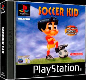 Soccer Kid - Box - 3D