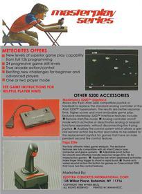 Meteorites - Box - Back