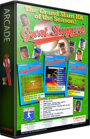 Great Sluggers '94 - Box - 3D