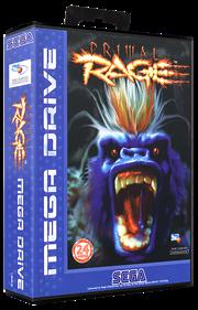 Primal Rage - Box - 3D