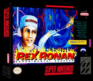 Rex Ronan: Experimental Surgeon - Box - 3D