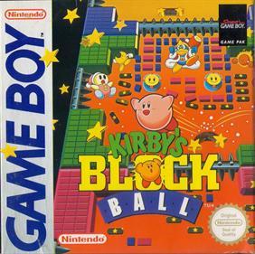 Kirby's Block Ball - Box - Front