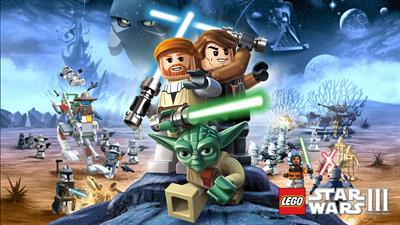 LEGO Star Wars III: The Clone Wars - Fanart - Background