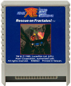 Rescue on Fractalus! - Cart - Front