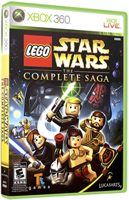 LEGO Star Wars: The Complete Saga - Box - 3D