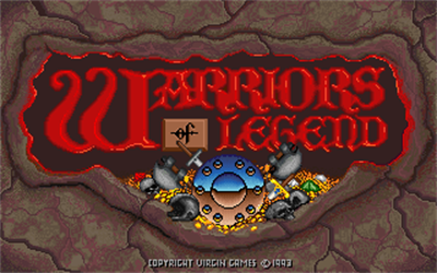 Warriors of Legend - Screenshot - Game Title