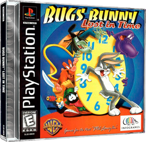 Bugs Bunny: Lost in Time - Box - 3D