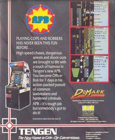 APB - Box - Back