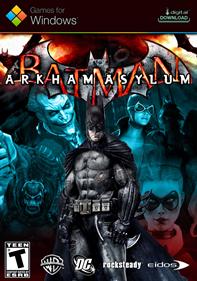 Batman: Arkham Asylum - Fanart - Box - Front