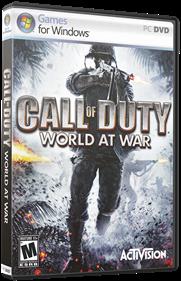 Call of Duty: World at War - Box - 3D