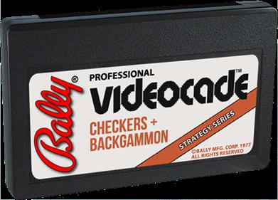 Checkers + Backgammon - Cart - 3D