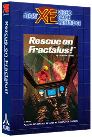 Rescue on Fractalus! - Box - 3D