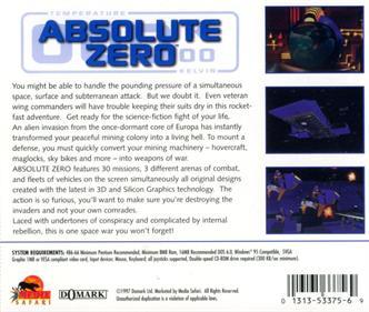 Absolute Zero - Box - Back