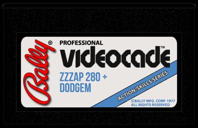 280 Zzzap + Dodgem - Cart - Front