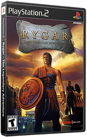 Rygar: The Legendary Adventure - Box - 3D