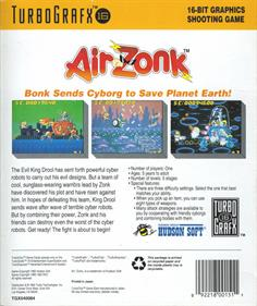 Air Zonk - Box - Back