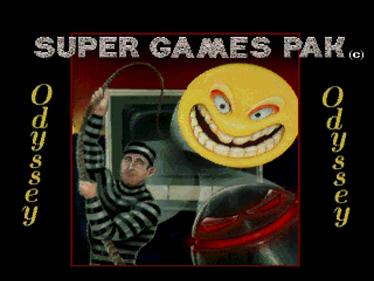 Super Games Pak - Screenshot - Game Title