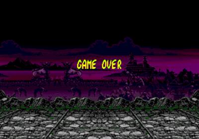 Mortal Kombat II - Screenshot - Game Over