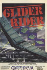Glider Rider - Advertisement Flyer - Front