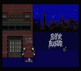 Bank Buster - Screenshot - Game Over