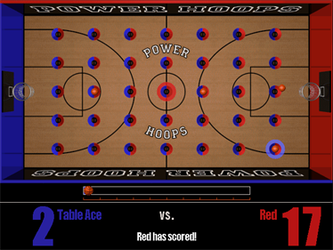 3-D TableSports - Screenshot - Gameplay