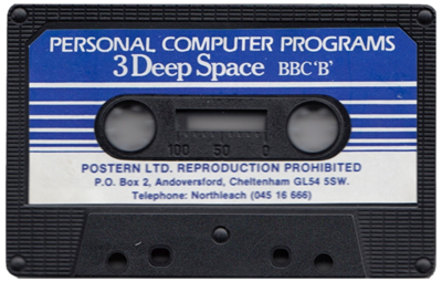 3 Deep Space - Cart - Front