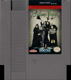 The Addams Family - Cart - Front