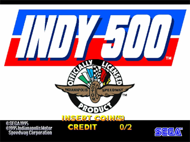 Indy 500 - Screenshot - Game Title