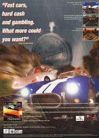 Roadsters - Advertisement Flyer - Front