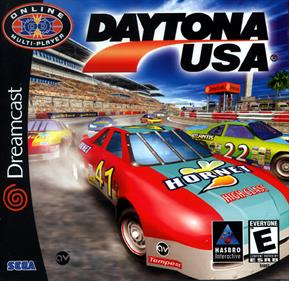 Daytona USA 2001 - Box - Front