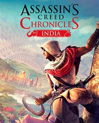 Assassin's Creed Chronicles: India - Box - Front