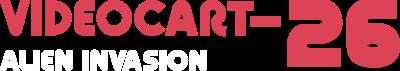 Videocart-26: Alien Invasion - Clear Logo