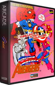 Captain America and the Avengers - Box - 3D
