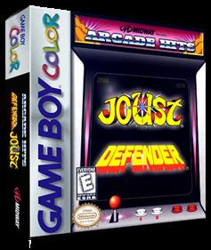 Arcade Hits: Joust & Defender - Box - 3D