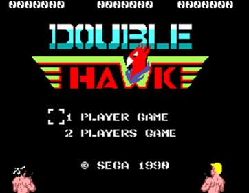 Double Hawk - Screenshot - Game Title
