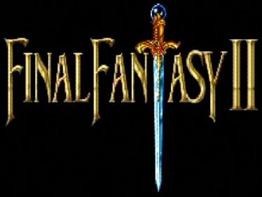 Final Fantasy II - Clear Logo