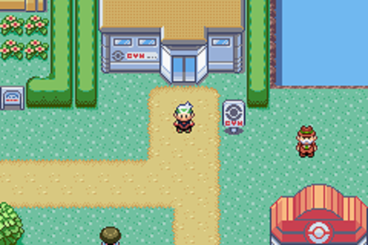 Pokémon Emerald Version Gameplay Screenshot Overworld