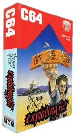 Kung-Fu: The Way of the Exploding Fist - Box - 3D