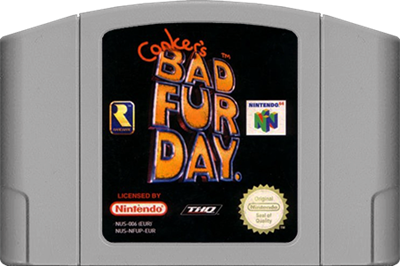 Conker's Bad Fur Day - Cart - Front