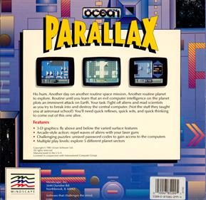Parallax (Ocean Software) - Box - Back