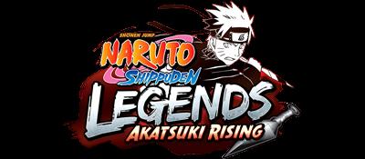 Naruto Shippuden: Legends: Akatsuki Rising - Clear Logo