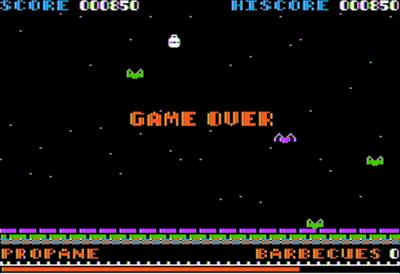 Alien Munchies - Screenshot - Game Over