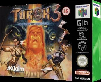 Turok 3: Shadow of Oblivion - Box - 3D