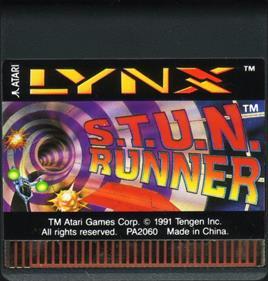 S.T.U.N. Runner - Cart - Front
