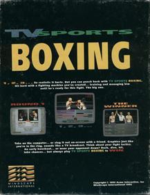 ABC Wide World of Sports Boxing - Box - Back