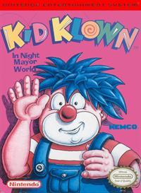 Kid Klown in Night Mayor World - Box - Front