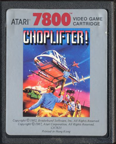 Choplifter! - Cart - Front